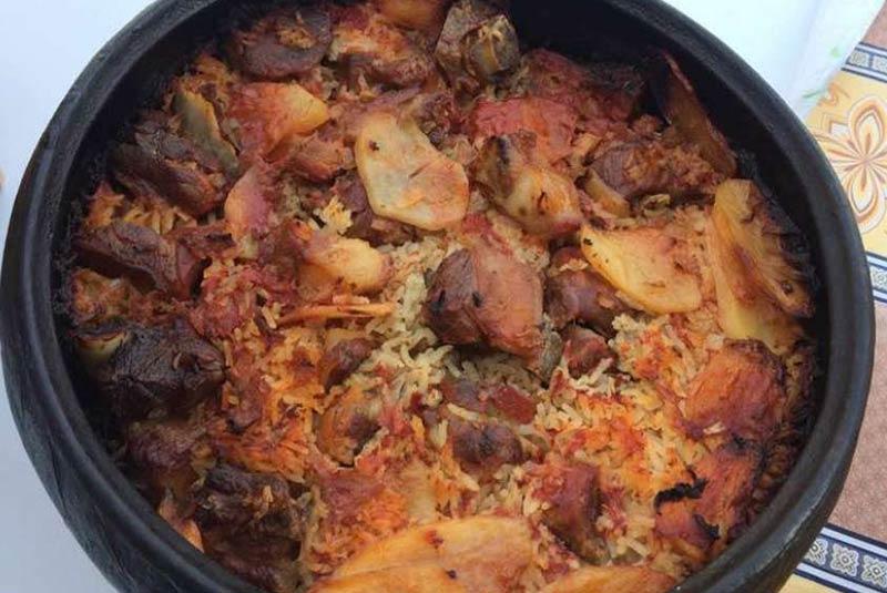 تاواس - غذای قبرسی