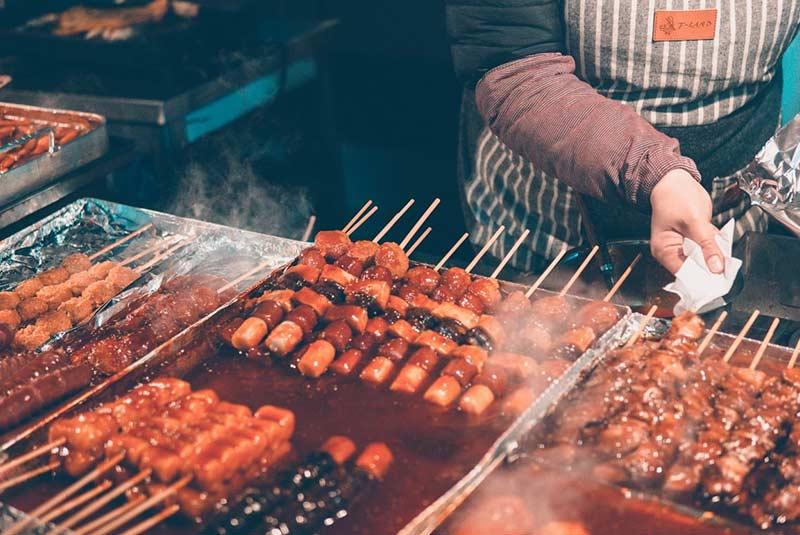غذاهای خیابانی کره جنوبی