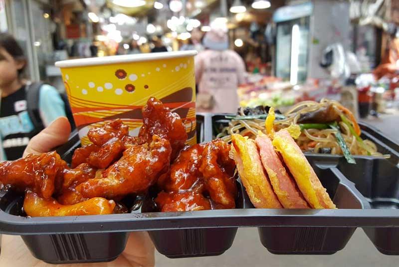 بازار تونگین کره جنوبی