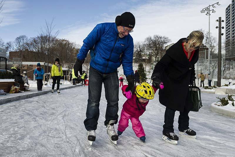 اسکیت سواری در تورنتو