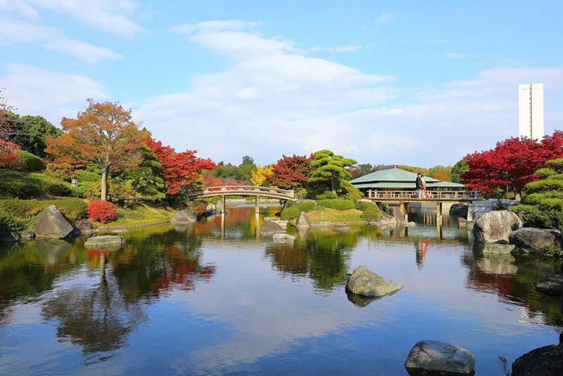 ماه نوامبر در اوزاکا