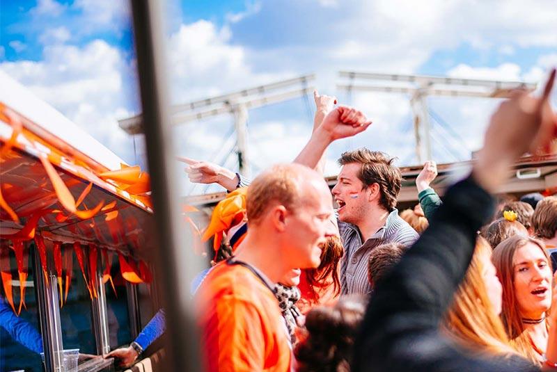 روز شاه در آمستردام