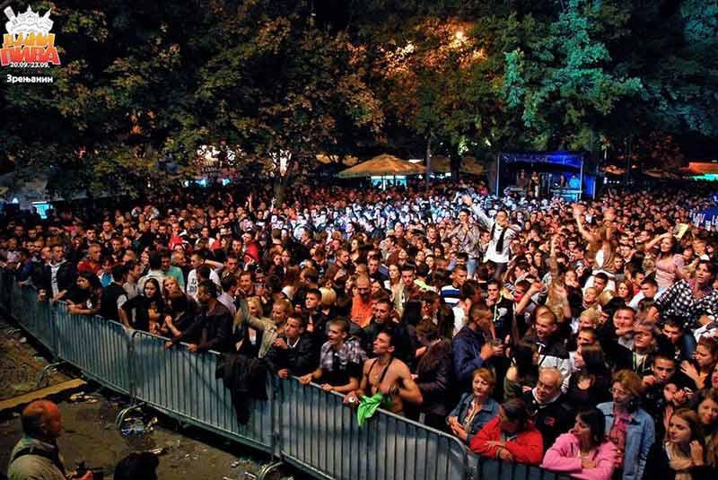 فستیوال های صربستان