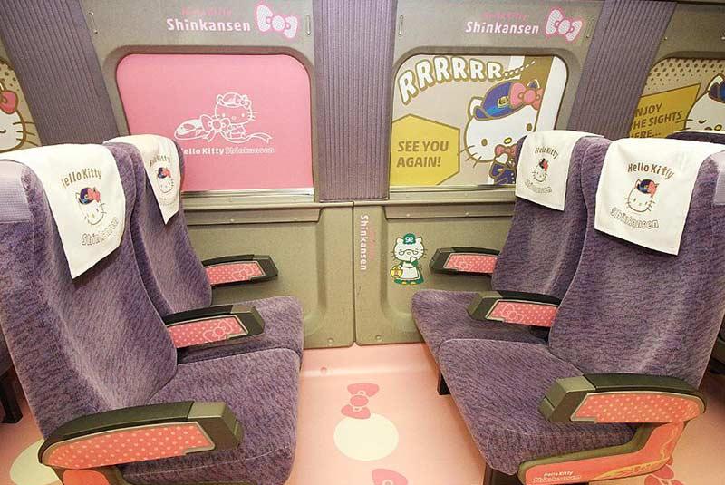 قطار هلو کیتی ژاپن