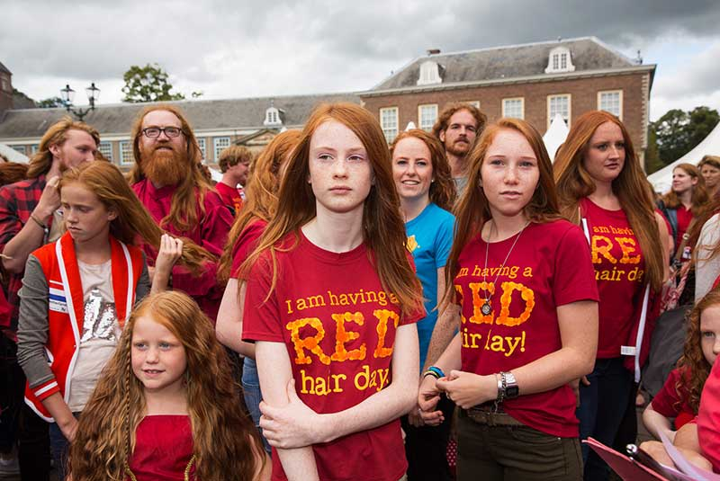 فستیوال مو قرمزها