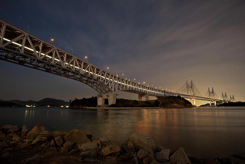 طولانی ترین پل ریلی جهان در ژاپن