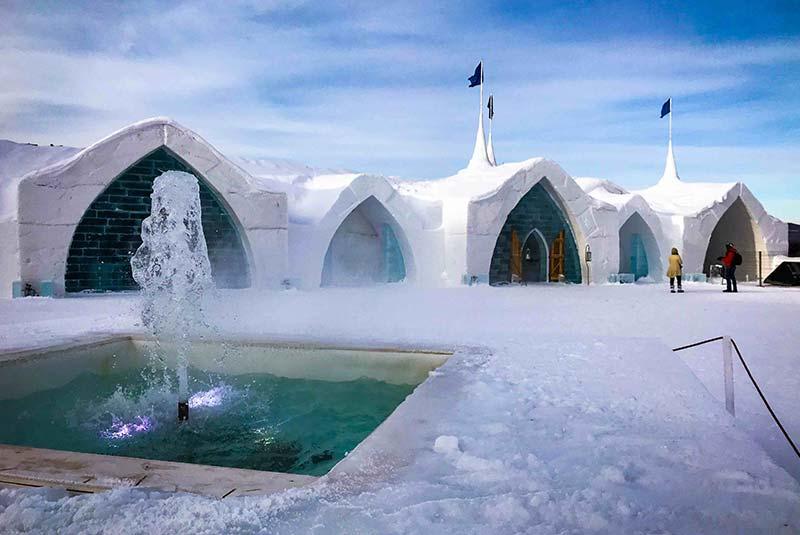 هتل یخی استان کبک