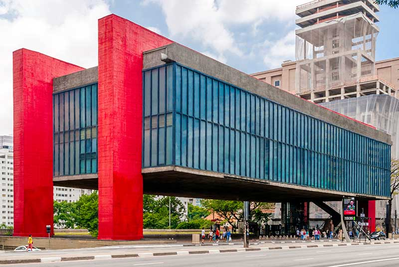 موزه هنر سائوپائولو - MASP