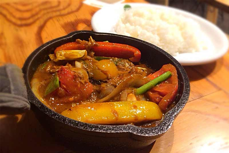 رستوران گیاهی اوزاکا - وجتبل کاری