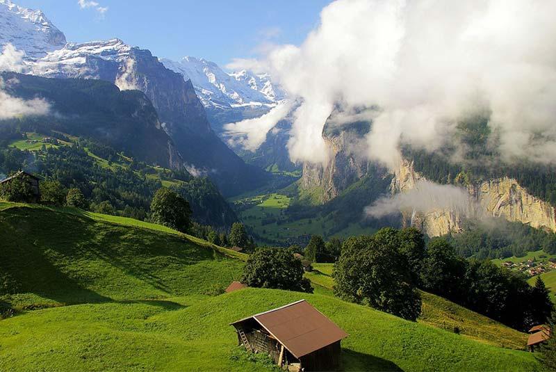 ونگن - دهکده های زیبای سوئیس