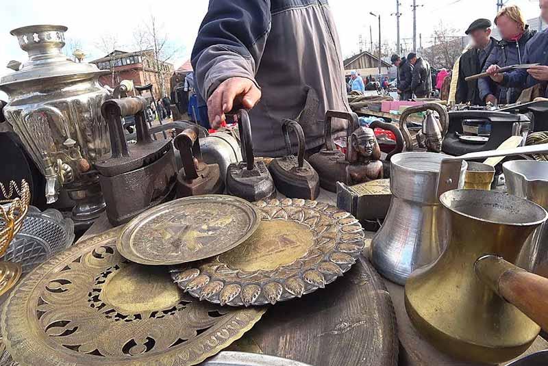 بازار روسی - باکو