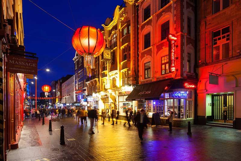 محله چینی ها - لندن