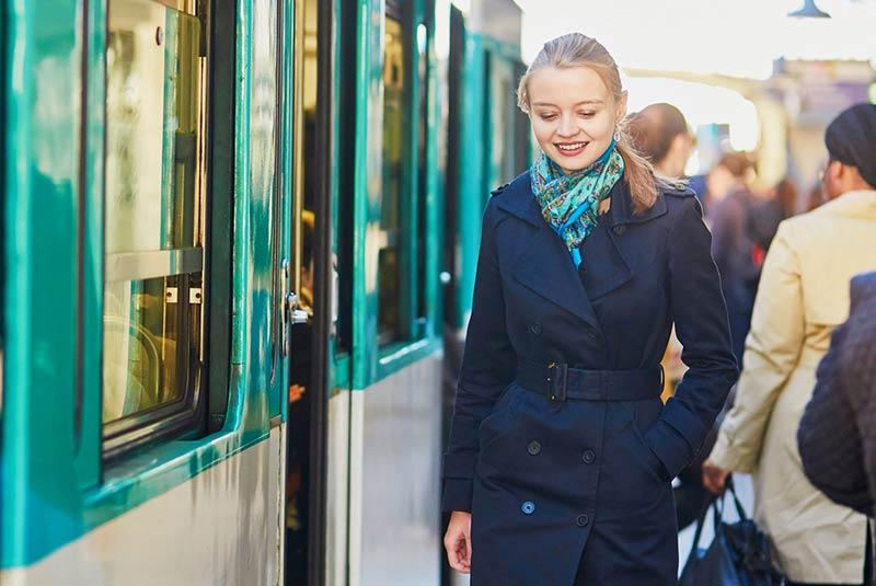 استفاده از مترو پاریس