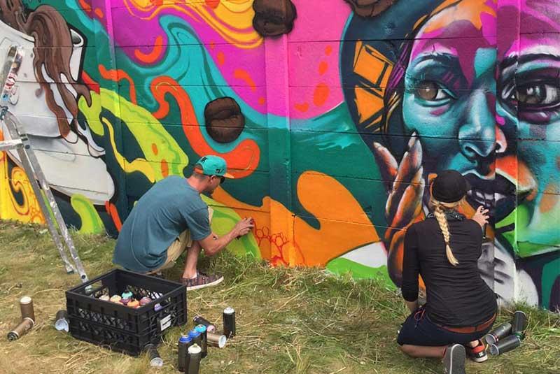 هنر خیابانی لاهه