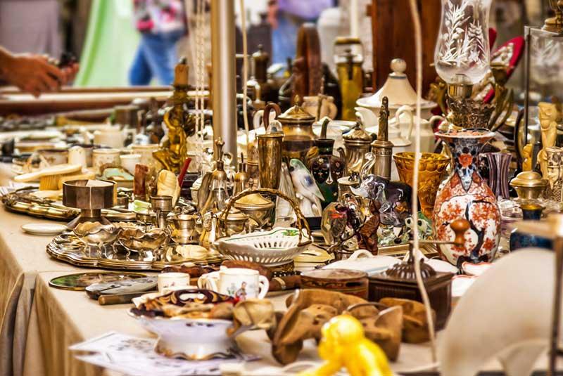 بازار اشیاء عتیقه - فلورانس