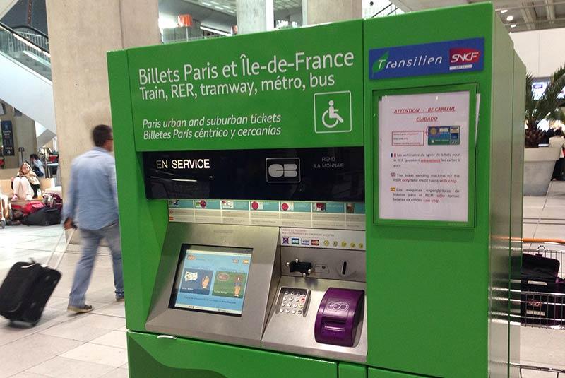 خرید بلیط در پاریس