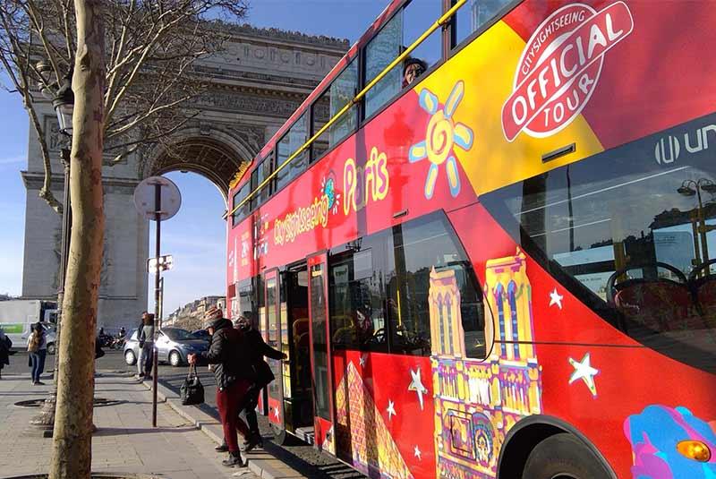 اتوبوس های پاریس
