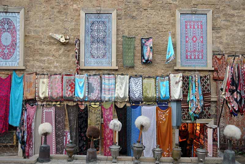 شال و کلاه سنتی - سوغات باکو