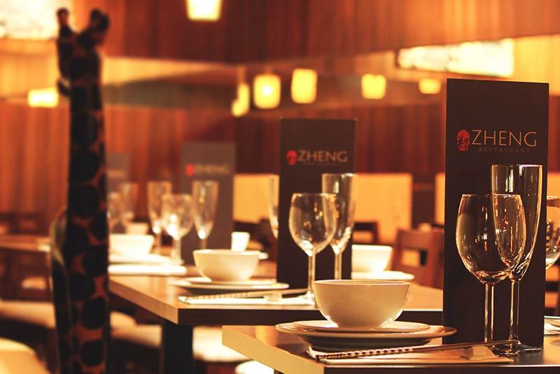 رستوران ژنگ - آکسفورد