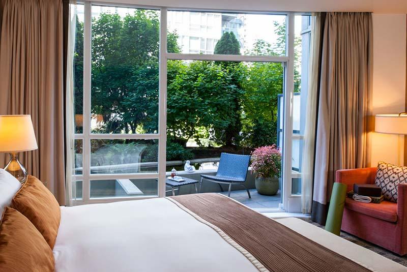 هتل لودن - ونکوور