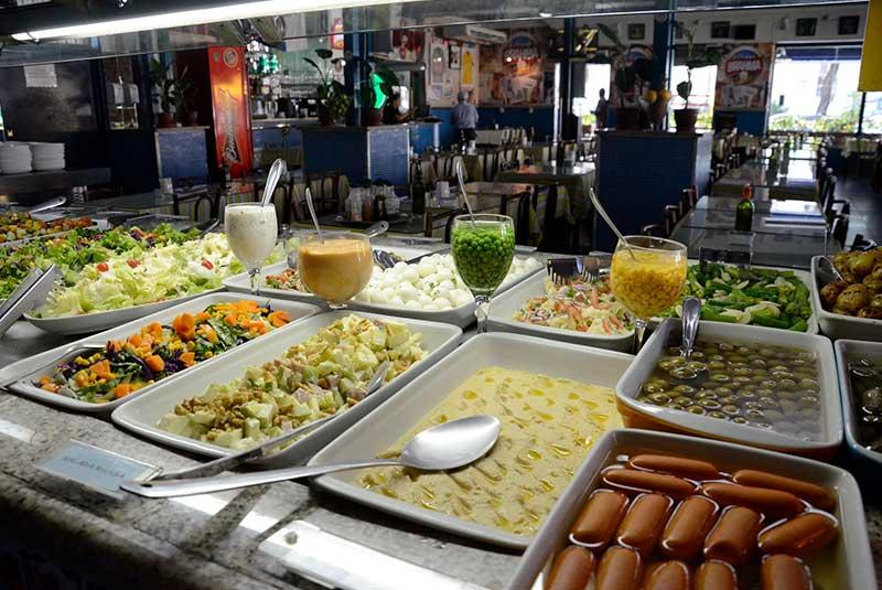 رستوران های کیلویی ریو دوژانیرو