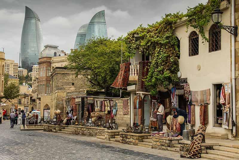 شهر قدیمی - باکو