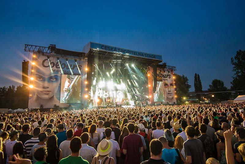 کنسرت رنگ های اوستراوا - چک