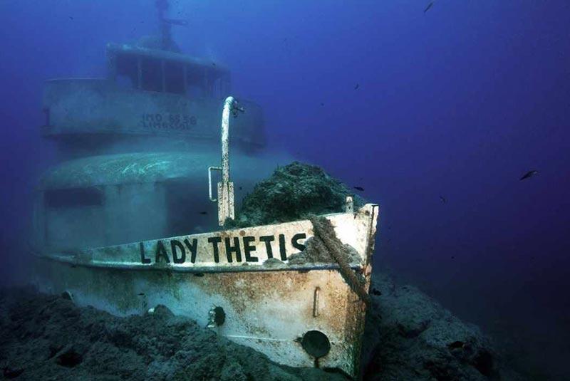 کشتی لیدی تتیس قبرس