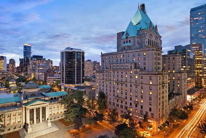 فرمونت هتل ونکوور