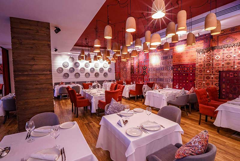 رستوران سوماخ - باکو