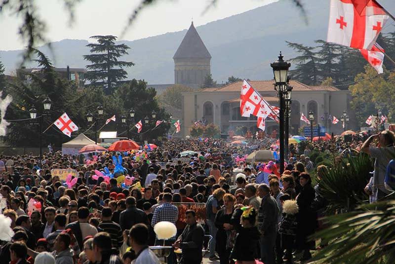 فستیوال توشتوبا - گرجستان