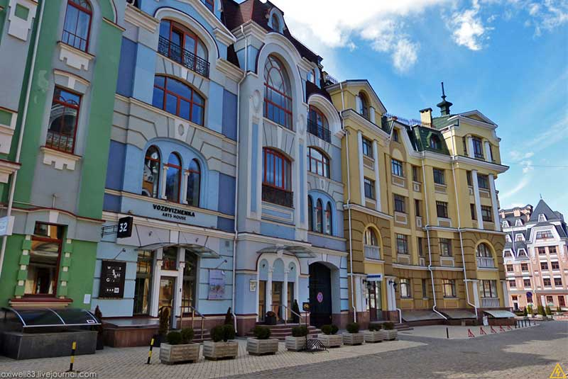 خیابان وزدویژنکا - کیف