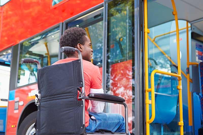 اتوبوس های پاریس برای معلولین