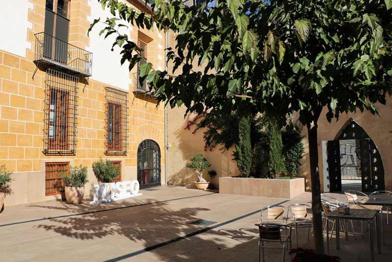 حیاط موزه ابریشم والنسیا