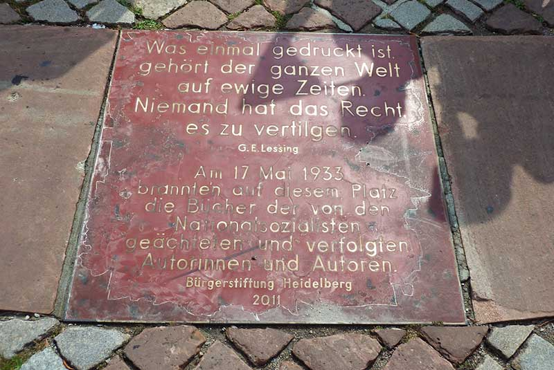 محل یادبود - هایدلبرگ