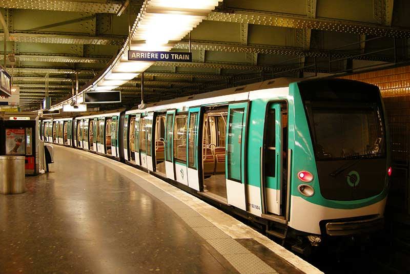 مترو پاریس