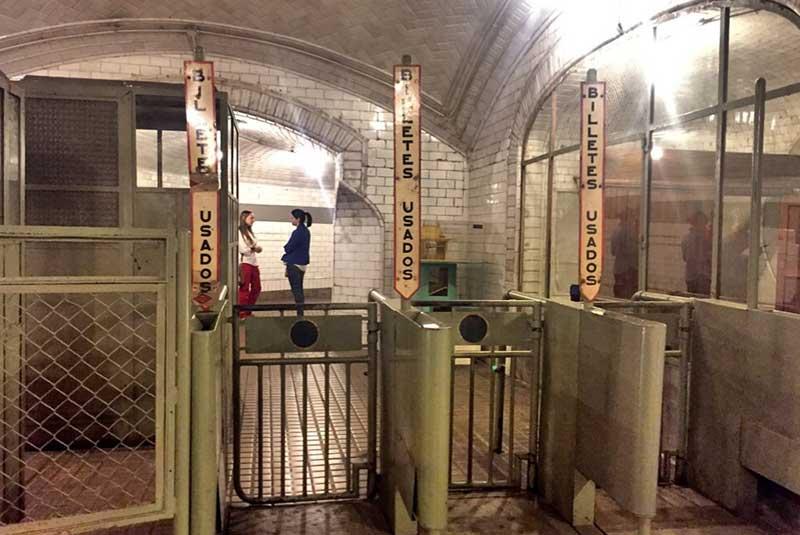 ایستگاه مترو چامبری - مادرید