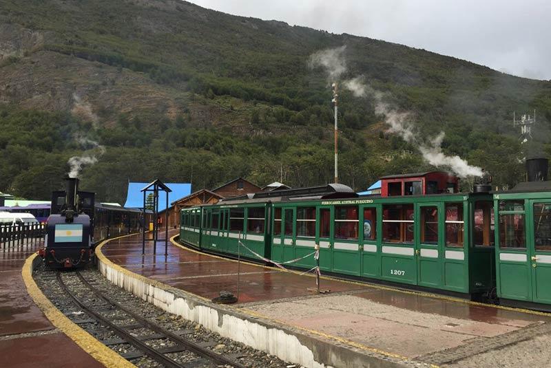 خط آهن فوگیان جنوبی - آرژانتین