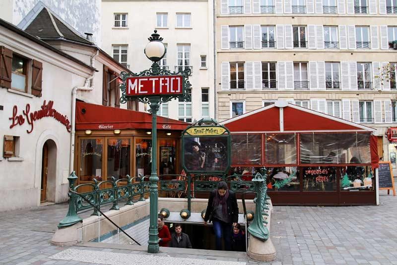 سیستم حمل و نقل عمومی پاریس