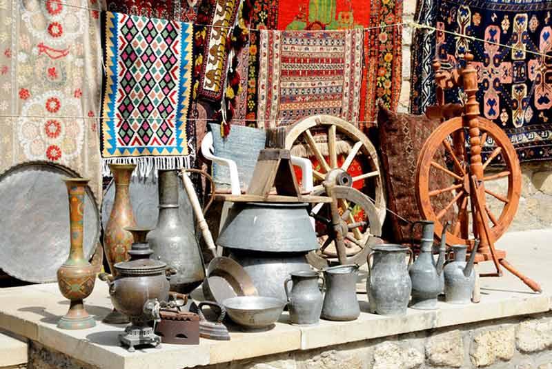 بازارهای محله قدیمی باکو