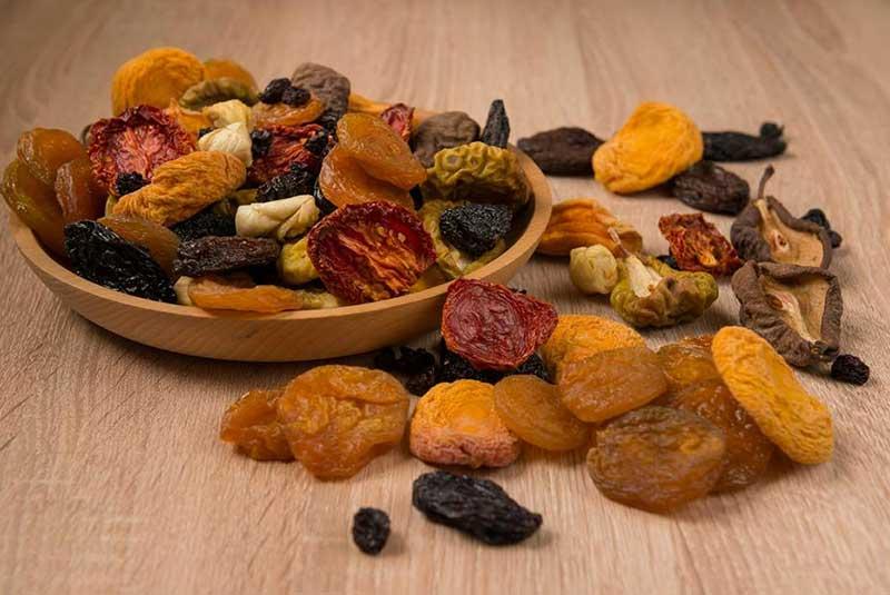 میوه های خشک شده - سوغات ایروان