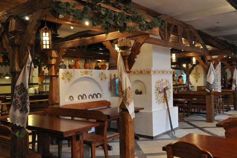 رستوران سارکسه سلو - کیف