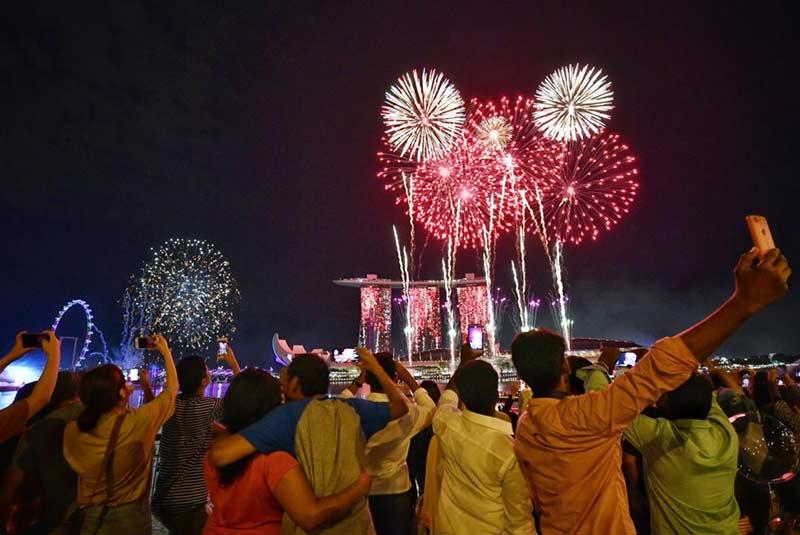 فستیوال سال نو سنگاپور