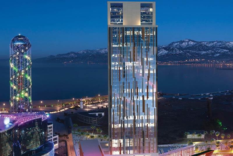 برج باتومی - گرجستان
