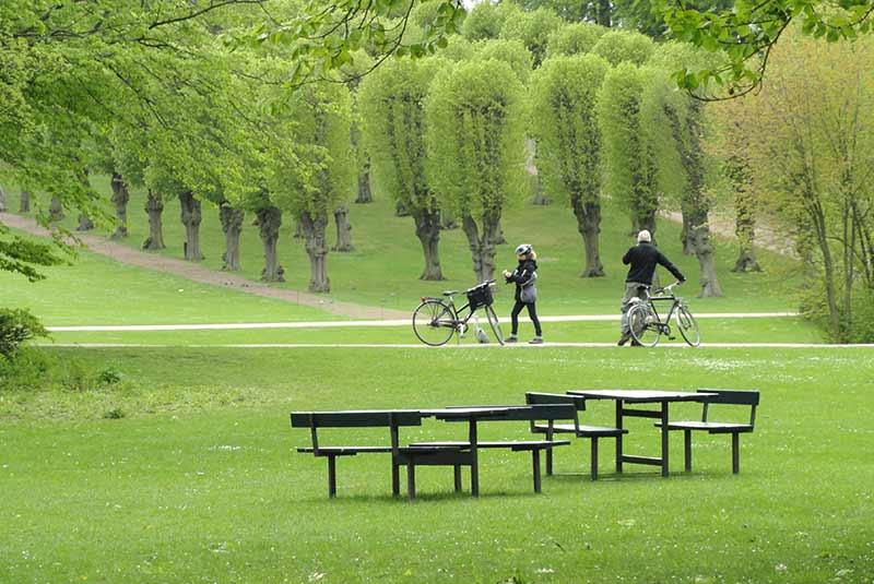 باغ های دانشگاه کپنهاگ