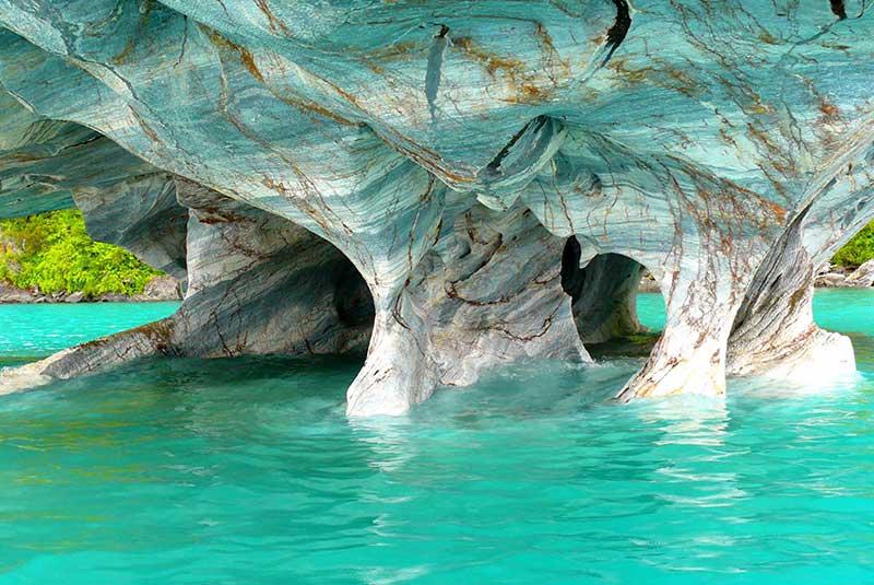 غارهای مرمری آرژانتین