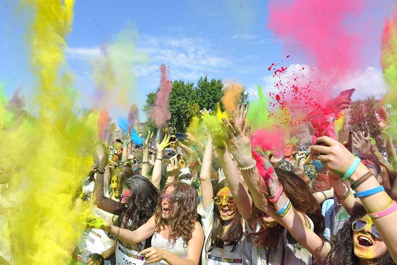 فستیوال رنگ ایروان