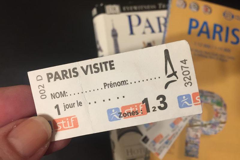 بلیط های پاریس ویزیت پس