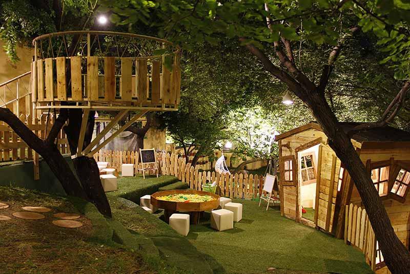 رستوران های درختی - ایروان