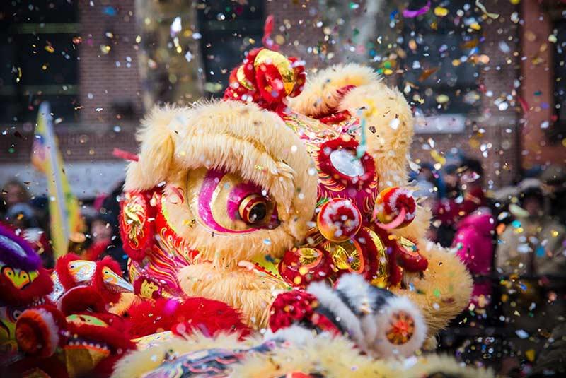 سال جدید چینی در سنگاپور